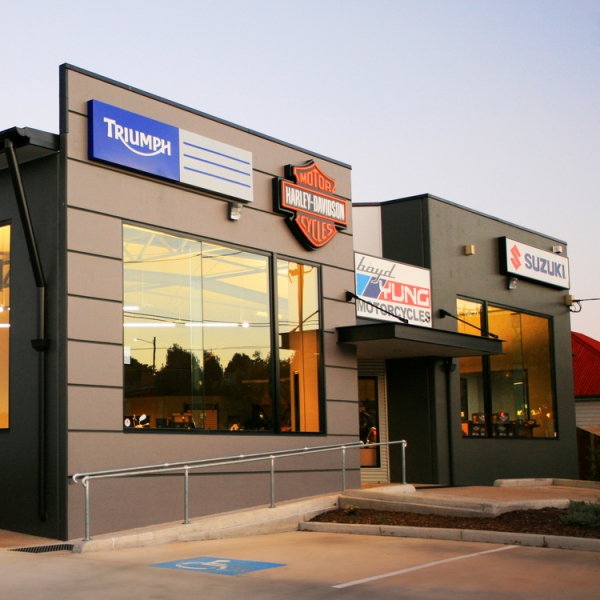 Boyd Yung Showroom, Toowoomba